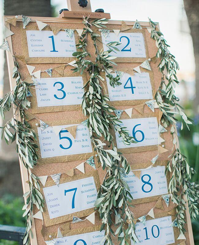 eucalyptus garland | Anna Roussos | Blog.theknot.com