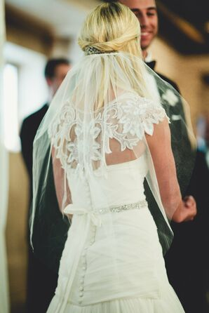 Intricate Lace Gown Detailing