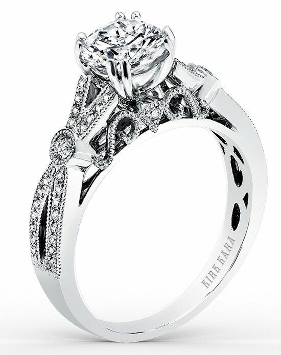 Kirk Kara Pirouetta Collection K165R Engagement Ring photo