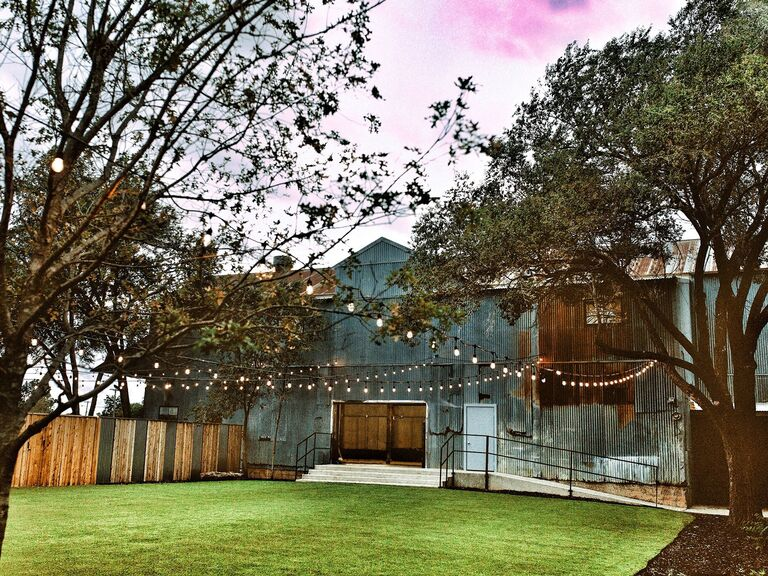 Wedding venue in Slaton, Texas.