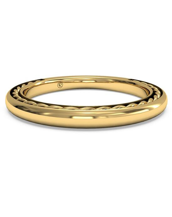 Ritani Women's Classic Braided Wedding Band - in 18kt Yellow Gold Wedding Ring photo