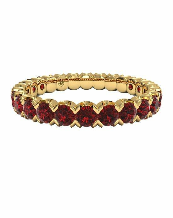 Ritani Classic Ruby Stackable Band in 18kt Yellow Gold Wedding Ring photo