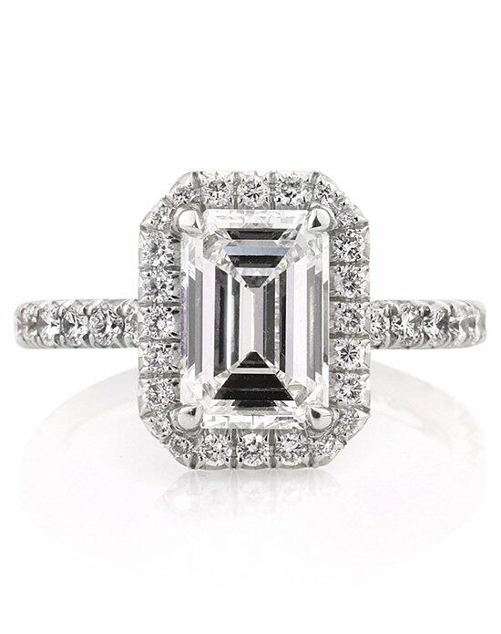 Mark Broumand 3.17ct Emerald Cut Diamond Engagement Ring Engagement Ring photo