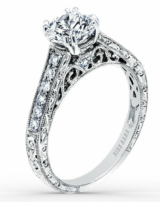 Kirk Kara Stella Collection K160ER Engagement Ring photo