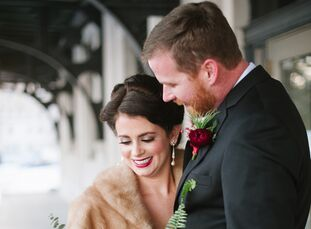 Sarah Jones (31 and a registered nurse and co-owner of The Proper Petal) and Zach Boyle (37 and a desktop systems administrator) paid homage to their