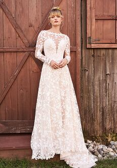 Lillian West 66188 A-Line Wedding Dress