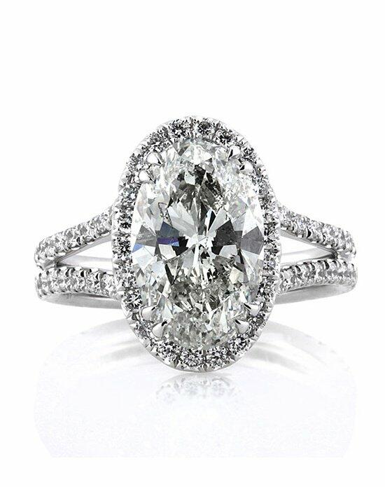 Mark Broumand 4.96ct Oval Cut Diamond Engagement Ring Engagement Ring photo