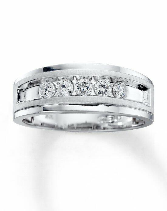 Kay Jewelers 10kw 1/2ct men's diamond ring-51410102 Wedding Ring photo
