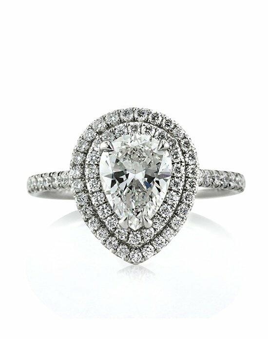 Mark Broumand 1.99ct Pear Shaped Diamond Engagement Ring Engagement Ring photo