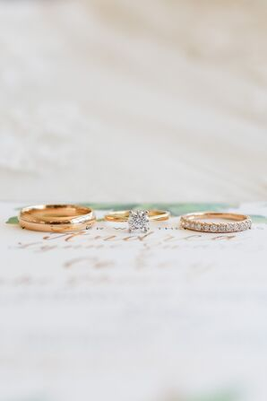 Simple Gold Wedding Jewelry