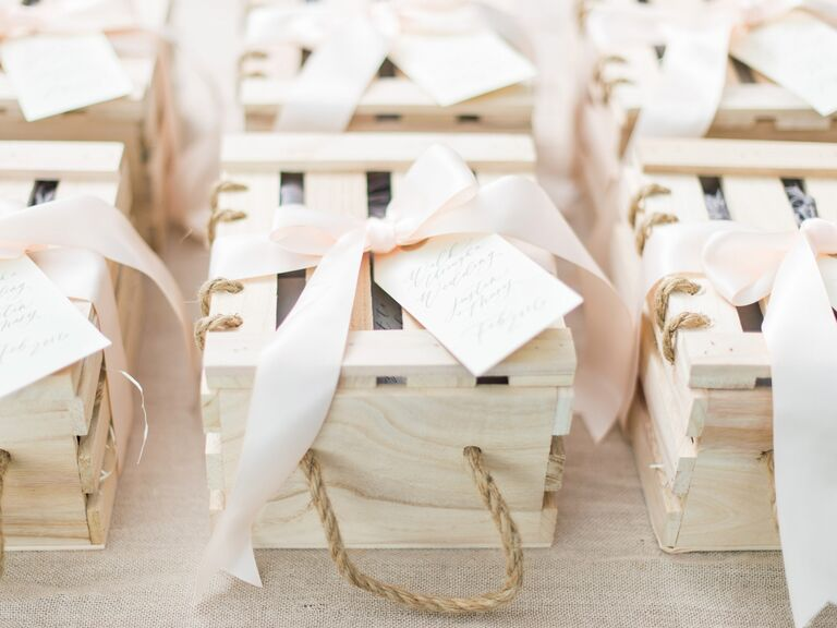 Wedding favors from Marigold and Grey
