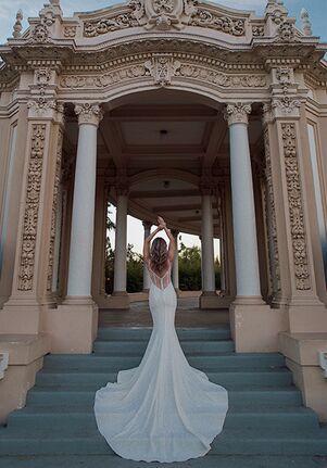 Essense of Australia D3305 Sheath Wedding Dress