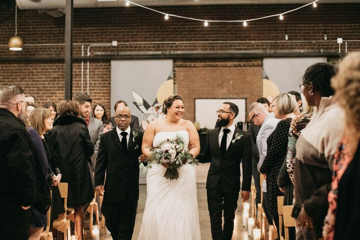 Bridal Procession at at PAIKKA in St. Paul, Minnesota