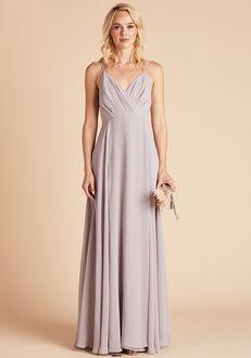 Birdy Grey Kaia Dress in Lilac V-Neck Bridesmaid Dress