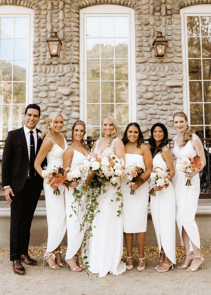 Wedding Party Portraits at Surf Hotel in Buena Vista, Colorado