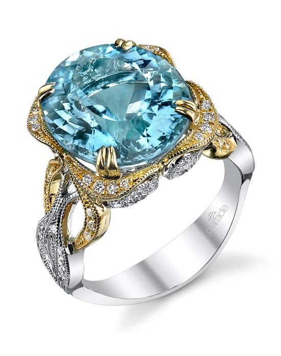 Parade Design Style R3094 from the Parade in Color Collection Engagement Ring photo