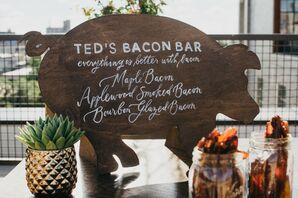 Bacon Bar Food Station