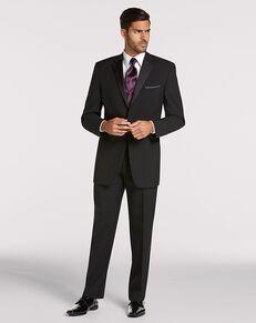 Men's Wearhouse Joseph & Feiss Black Notch Lapel Tuxedo Black Tuxedo