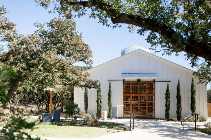 Wedding at The Ivory Oak in Wimberley, Texas