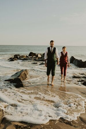 Beach Wedding Photos in Cape May, New Jersey