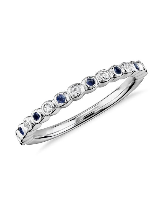 Truly Zac Posen Bezel-Set Sapphire and Diamond Ring  Wedding Ring photo