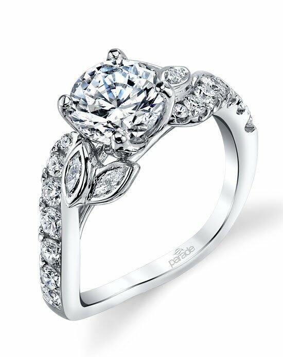 Parade Design Style R3523 from the Lyria Bridal Collection w Engagement Ring photo