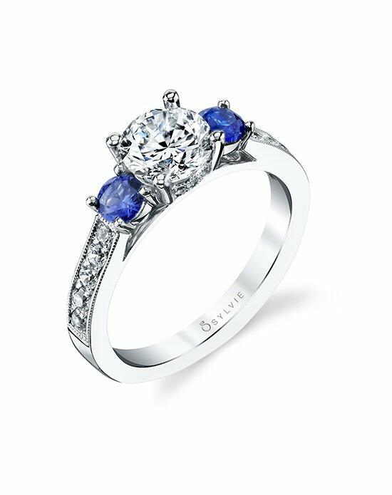 Sylvie Collection S4111S Engagement Ring photo
