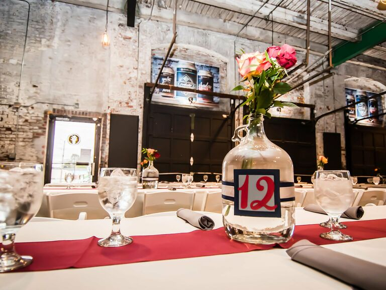 Brewery wedding venue in Indianapolis, Indiana.