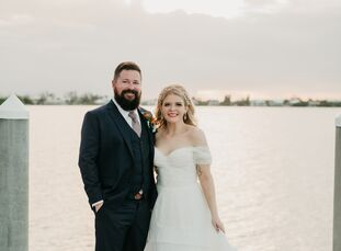 No passports were necessary in the making of Anna Zolynsky (25 and a tattoo apprentice) and Kyle Husband's (32 and an executive manager) destination a