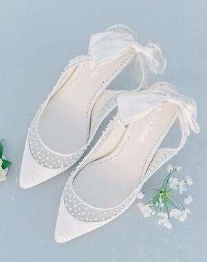 Bella Belle GEORGIA Ivory Shoe