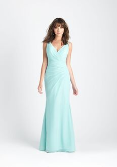 Allure Bridesmaids 1501 V-Neck Bridesmaid Dress