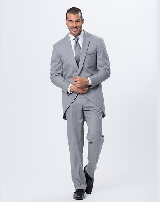 XEDO Allure Men Heather Gray Stroller Tux Wedding Tuxedos + Suit photo