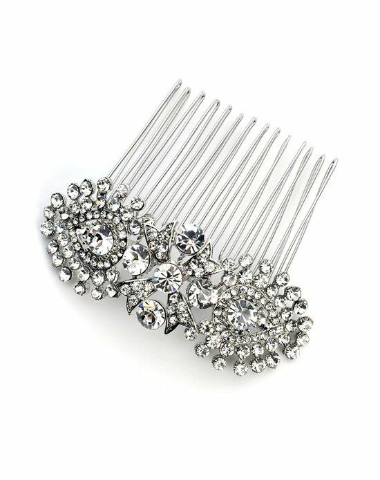 USABride Modern Swirl Rhinestone Comb TC-2235 Wedding Pins, Combs + Clips photo