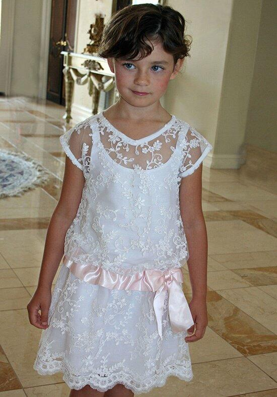 Isabel Garretón Lacy Flower Girl Dress photo