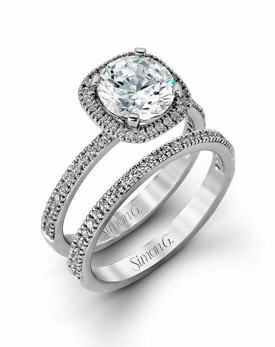 Simon G. Jewelry MR1840-A Engagement Ring photo