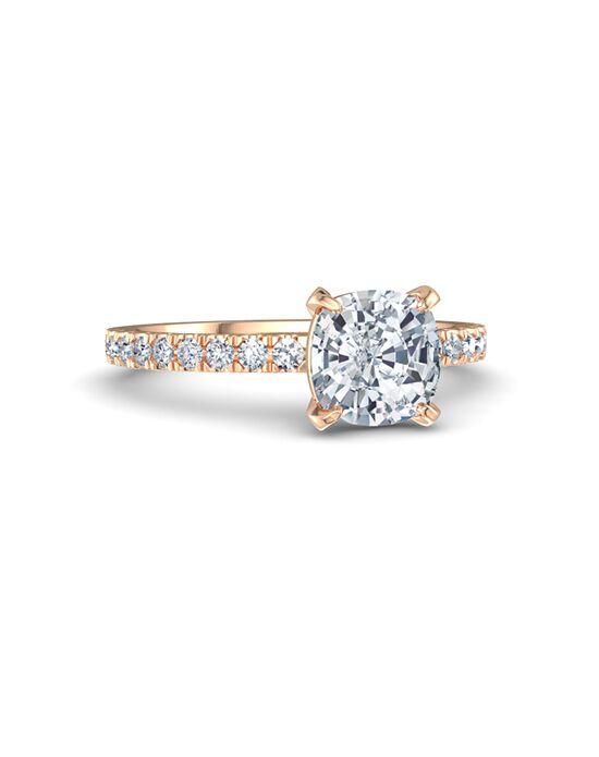 Gemvara - Customized Engagement Rings Elegant Cushion Cut Engagement Ring
