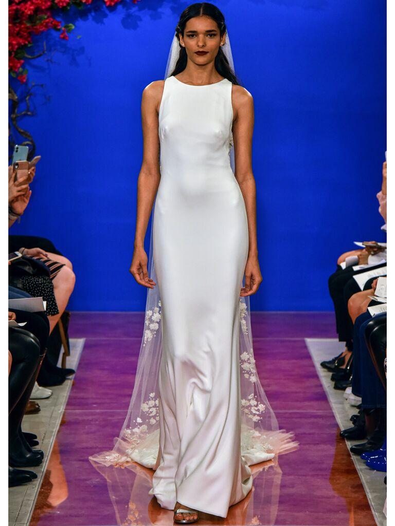 theia wedding dress sheath