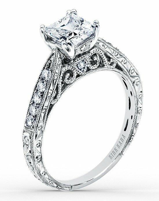 Kirk Kara Stella Collection K161ES Engagement Ring photo