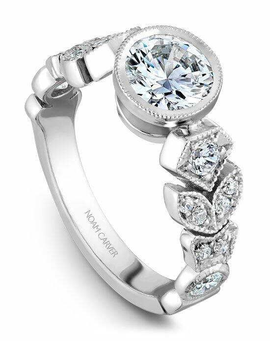 Noam Carver B028-01WS-100A Engagement Ring photo