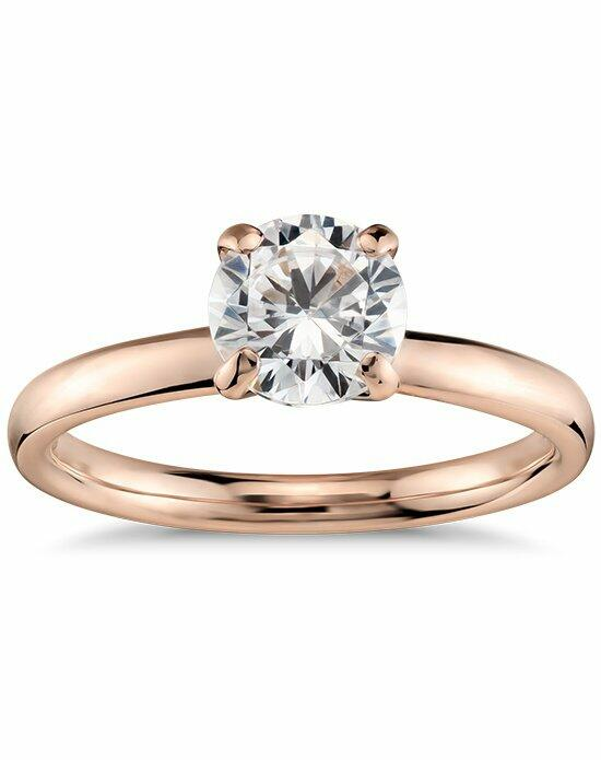 Monique Lhuillier Fine Jewelry Classic Solitaire Engagement Ring Engagement Ring photo