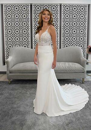 Stella York 7185 Sheath Wedding Dress