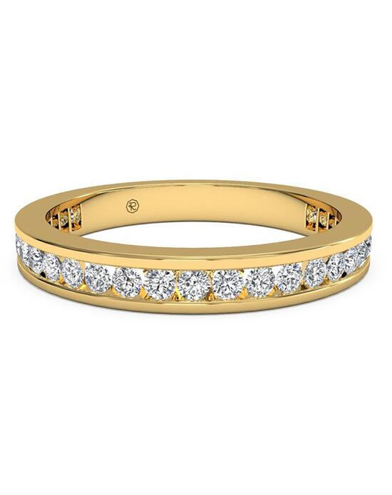 Ritani Women's Channel-Set Diamond Eternity Wedding Ring - in 18kt Yellow Gold - (0.55 CTW) Wedding Ring photo