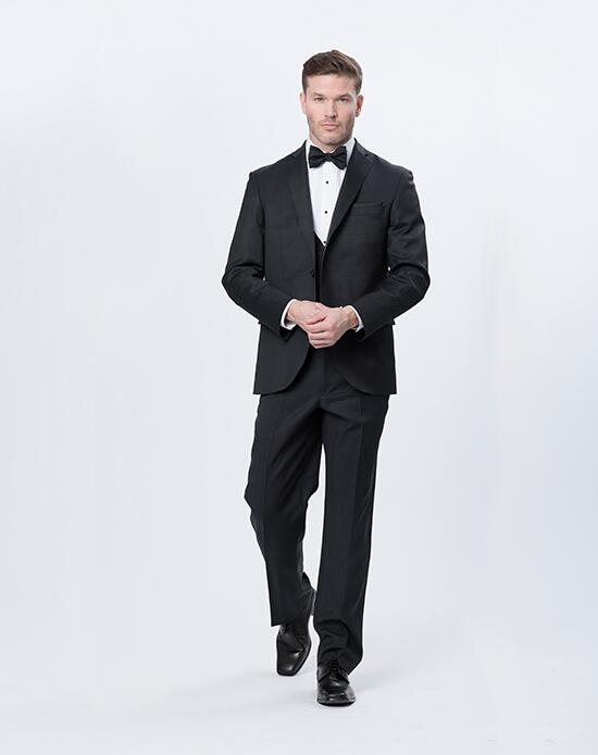 Mon Cheri Mon Cheri Black Tux Wedding Tuxedos + Suit photo