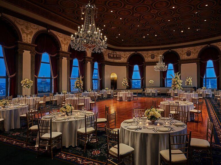 Halloween wedding venue in Providence, Rhode Island.