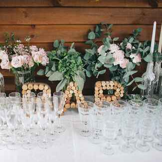 Wedding bar: how to stock