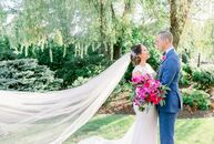 """After Yolanda and Enrique's seaside Positano engagement, the pair decided to bring the Amalfi Coast to New Jersey for their wedding. """"We fell in love"""