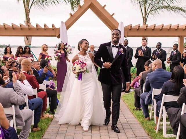 Wedding venue in North Beach, Maryland.