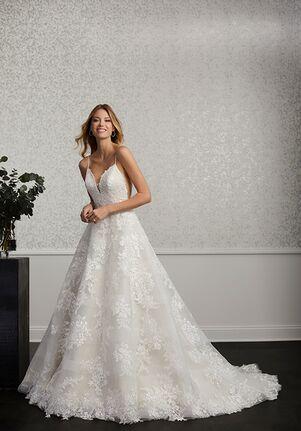Adrianna Papell Platinum 31110 Ball Gown Wedding Dress