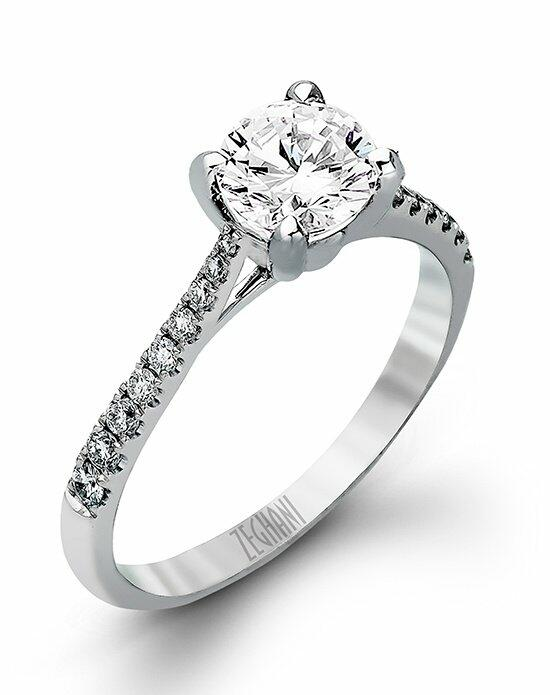 Zeghani ZR752 Engagement Ring photo