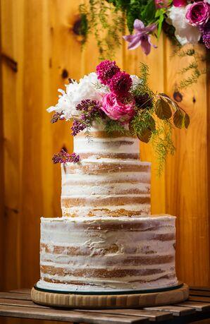 Lemon Naked Wedding Cake